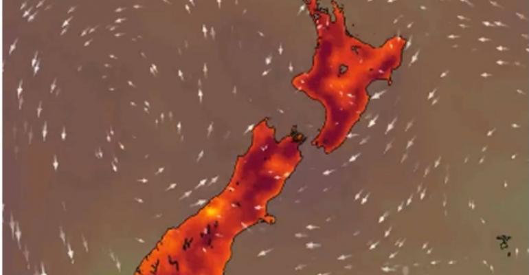 Warming in the Tasman Sea Deep South Challenge