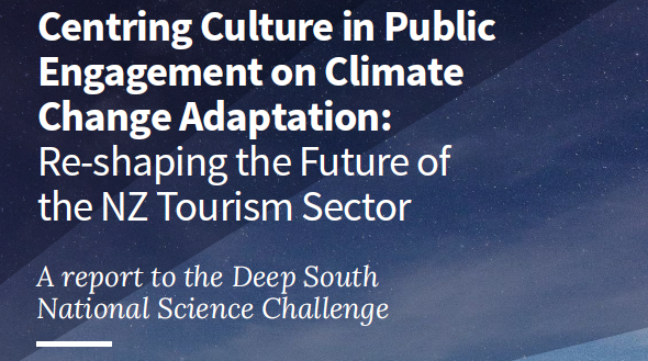 Re-shaping the future of the NZ tourism sector Deep South Challenge